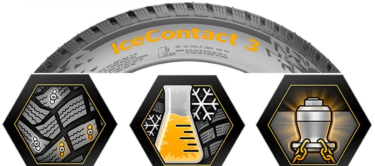 CONTINENTAL ICE CONTACT 3